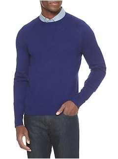 Premium Luxe Crew Neck Sweater