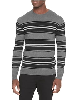 Striped Crew Neck Sweater