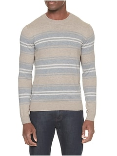 Variegated Stripe Pullover Sweater