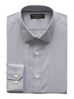 Slim-Fit Non-Iron Yarn Dye Shirt