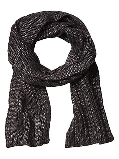 Cold Weather Metallic Scarf