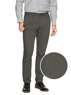 Aiden Slim-Fit Pinstripe Pant