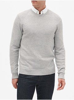 Crew Neck Pullover Sweater