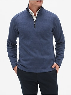 Moisture Wicking Half Zip Pullover