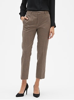 Avery Tattersall Tailored Ankle Pant