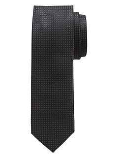 Thin Textured Tie