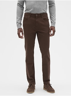 Slim-Fit Stretch Moleskin Pant