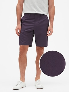 Aiden Slim-Fit Plum Print Short