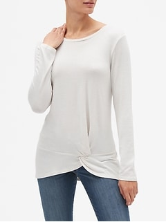 LuxeSpun Twist Tunic
