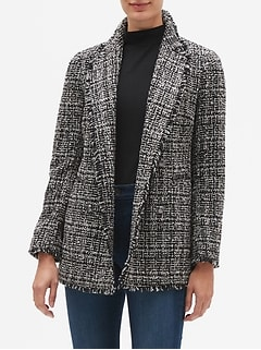 Boucle Long Jacket