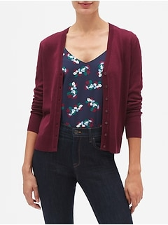 Machine Washable Forever V-Neck Cardigan
