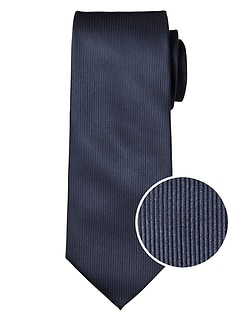 Navy Mini Stripe Classic Tie
