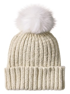 Cold Weather Metallic Beanie