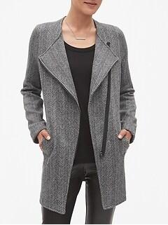 Petite Angle Zip Jacket