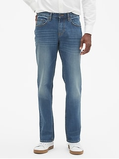 Athletic-Fit Stretch Light Wash Jean