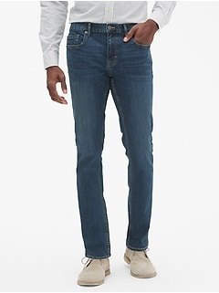 Techmotion Slim-Fit Stretch Dark Wash Stretch Jean