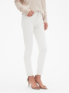 StayClean Sculpt White Skinny Jean
