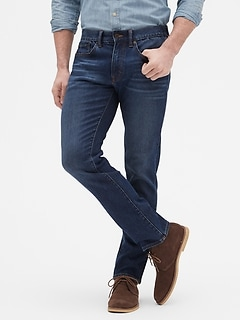 Premium Performance Stretch Slim Medium Wash Jean