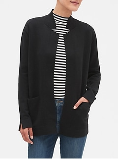 Open Front Sweater Jacket