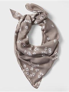 Lightweight Lydia Floral Scarf