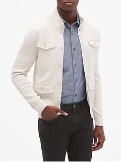Four Pocket Sweater Jacket