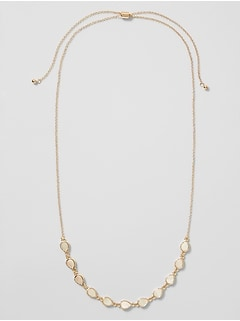 Teardrop Mop Necklace