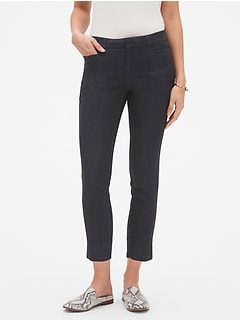 Sloan Denim Crop Pant