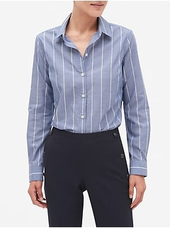 Stripe Yarn Dyed Classic Shirt