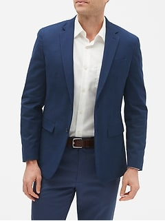 Techmotion Slim-Fit Stretch Chino Blazer