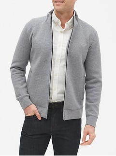Mock-Neck Jacket