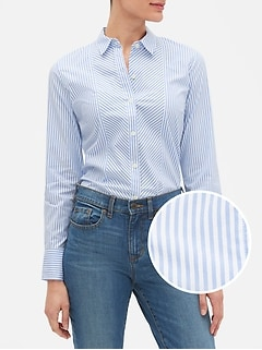 Tailored Mixed Stripe Shirt