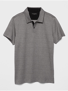 Textured Dress Polo