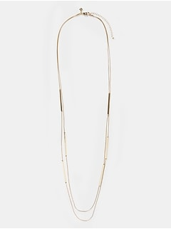 Linear Station Necklace