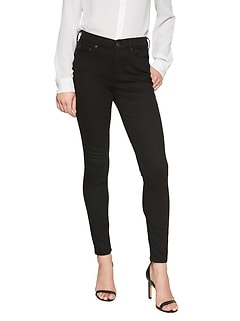 Curvy Fit FadeResist Black Skinny Jean