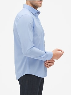Slim-Fit Tech Stretch Untucked Shirt