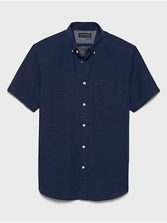 Standard-Fit Soft-Wash Yarn Dye Shirt