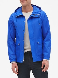 Water-Resistant Wind Breaker Jacket