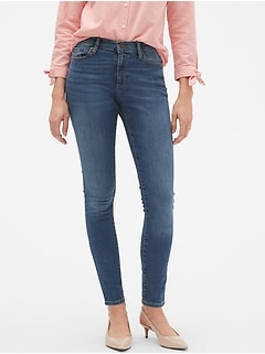 Curvy Fit Sculpt Medium Wash Skinny Jean
