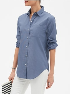 Boyfriend Chambray Shirt