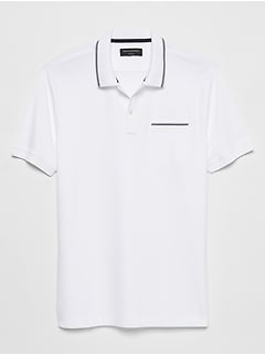 Tipped Dress Polo