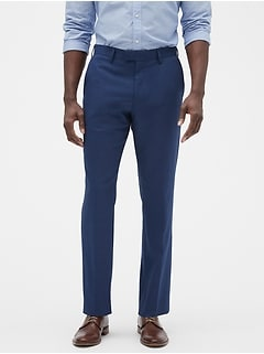 Slim-Fit Stretch Blue Trouser