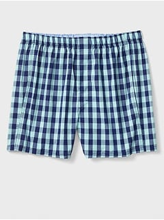 Evan Plaid Boxers