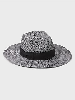 Wide Brim Pattern Fedora