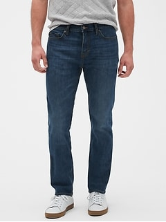Slim-Fit Stretch Summer-Weight Medium Authentic Jean