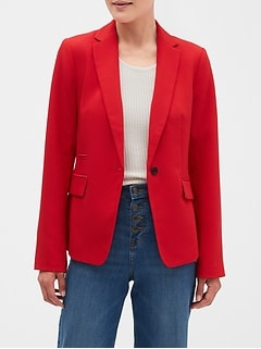 Machine Washable Bi-Stretch Classic Blazer