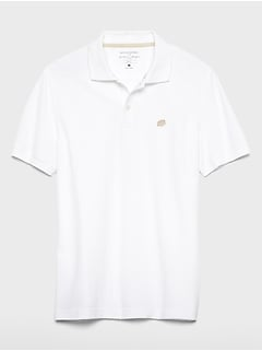 Slim-Fit Solid Pique Polo