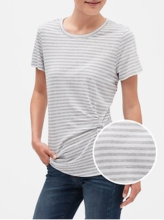 Stripe Twist T-Shirt