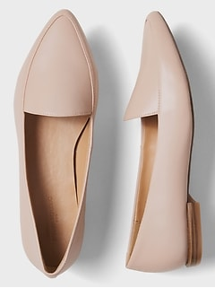 Pointed Toe Loafer
