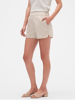 Petite Pull-On Shorts - 4 inch inseam