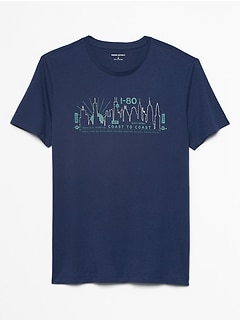 Skyline Graphic T-Shirt